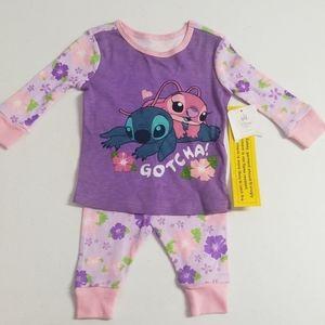 Disney Baby Lilo & Stich Pajamas